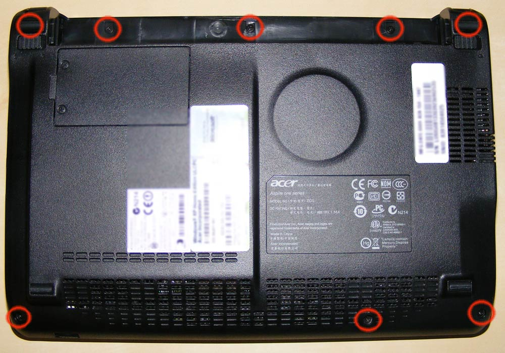 Acer Aspire One Ram Or Hard Drive Upgrade Tech Dc