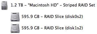 Mac RAID